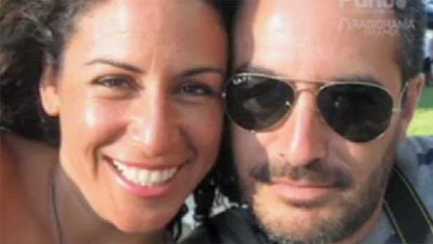 Ximena Osegueda, left, and partner Alejandro Alvarado were found slain on a Mexican beach nearly a month after going missing.