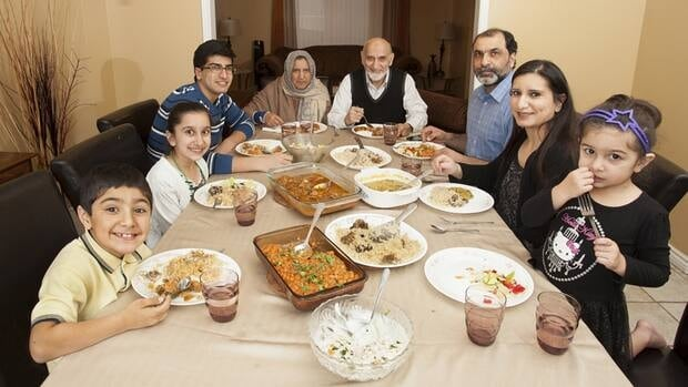 "The Qureshis were one family that posed for ""Our Place,' a collection of dinnertime photos of families from Hamilton's diverse communities."
