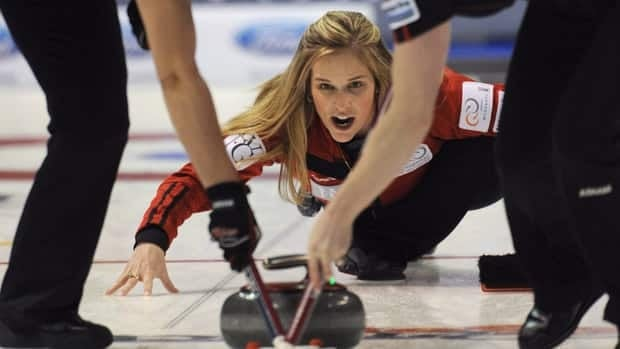 Jennifer Jones and Brent Laing teamed up to defeat Norway's Torger Nergard and Switzerland's Carmen Kung 7-5 earlier on Saturday at the World Financial Group Continental Cup curling event in Penticton, B.C.