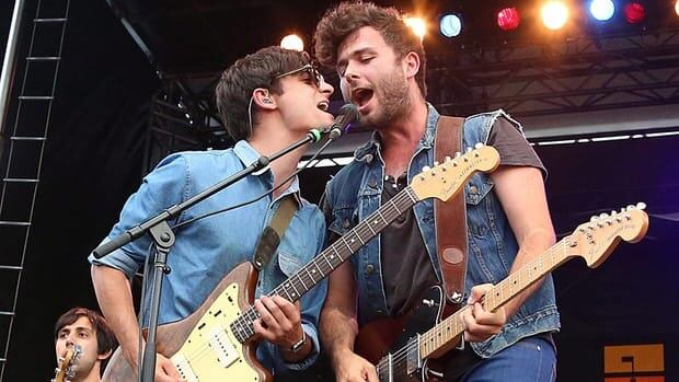 Max Kerman of The Arkells (right) is one of 79 musicians who has signed a statement denouncing the idea of a casino in downtown Hamilton.