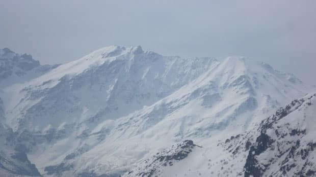Mount Cheekah Dar is the highest peak in Iraq, at about half the altitude of Mount Everest.