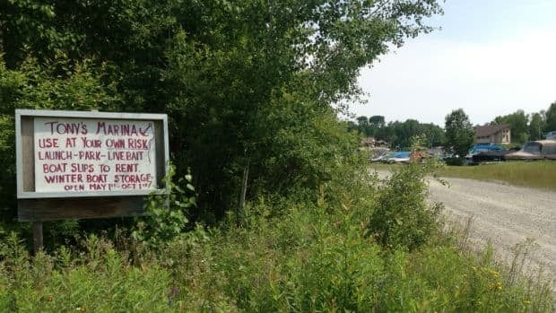 Tony's Marina in Skead, is owned by the late Mike Kritz's father.