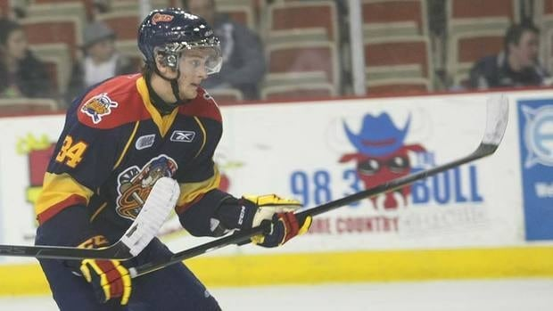 Erie Otters centre Dane Fox hit the ground running upon arriving in a Jan. 5 trade from London. The talented two-way forward has seven goals and 10 points in his first nine games.