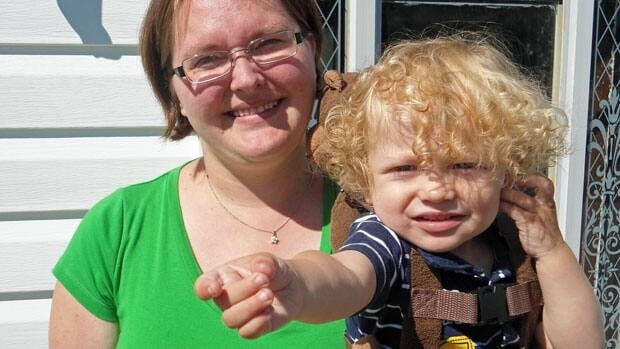 Jessica Sharpe and her son Adam are living with family until they can find a solution to their housing problem. The walls in their home are shifting and cracking.