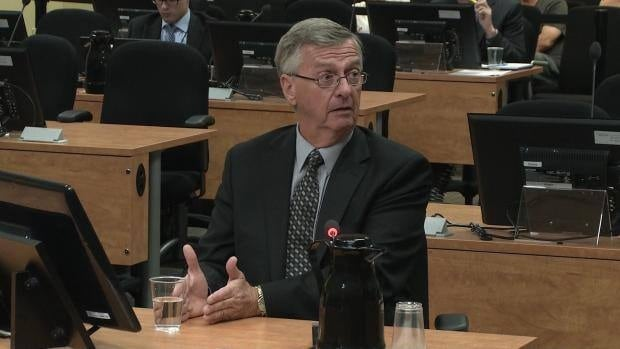 Jean Bertrand, the former official agent for the PRO des Lavallois party, testified at the Charbonneau inquiry Thursday.