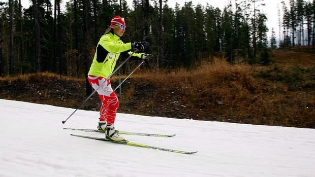 Chandra Crawford, shown here training in Alberta in Oct., is just one of many Canadian athletes starting their roads to the Sochi Olympics.