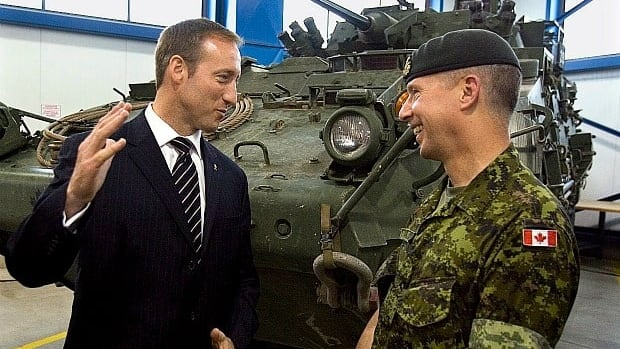 Lt.-Gen. Andrew Leslie was asked by Defence Minister Peter MacKay to lead a group within the Department of National Defence in a study of how to transform the Canadian Forces.