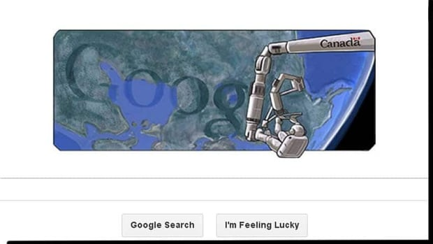 Google's chief doodler Ryan Germick says the suggestion for the image came from the company's Canadian offices a few months ago.