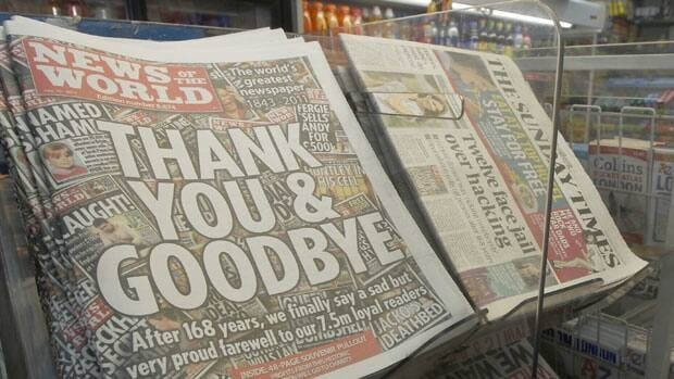 News of the World was shuttered in the wake of the phone-hacking scandal.