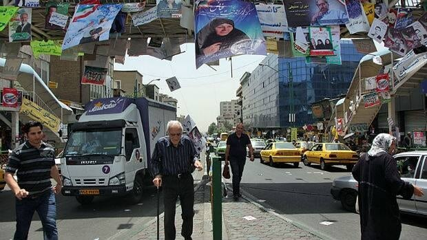 Election posters still adorn the streets of Tehran, and there have been regular candidate rallies these past few weeks, but the excitement of 2009 is nowehere to be seen.