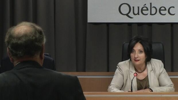 Judge France Charbonneau presides over the Quebec corruption inquiry. It is moving into its public input phase.
