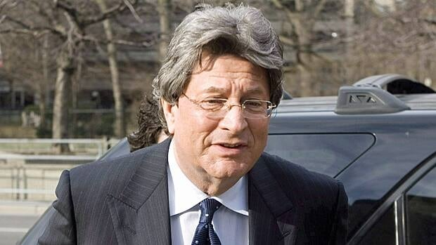 Livent co-founder Garth Drabinsky is shown in Toronto on March 25, 2009. The former theater mogul will not be able to appeal his conviction and five-year prison term for fraud to the Supreme Court.