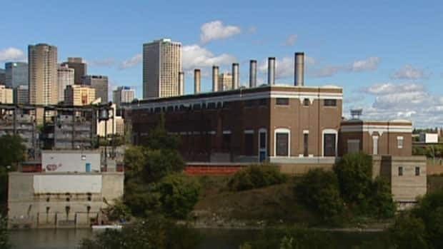 Edmonton's Rossdale power plant sits on the North Saskatchewan River.