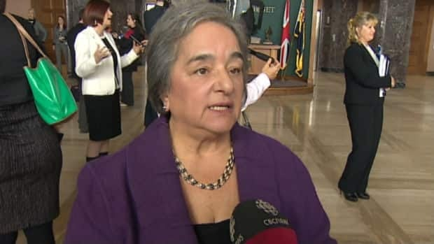 NDP leader Lorraine Michael says she doesn't trust the figures released by government after they announced the deficit for 2013-14 was reduced by approximately $1 billion.