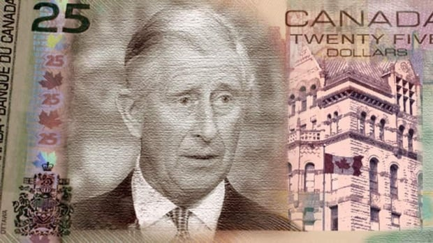 Public opinion polls may not favour Prince Charles as the next monarch, but unless fate or some sort of constitutional intervention throws a curve, he will be the next king of Canada. This would affect Canada in a number of ways, such as the inclusion of his image on Canadian currency, as seen in this artistic rendering.