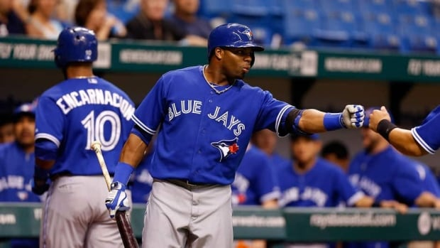 Toronto Blue Jays outfielder Rajai Davis is hitting .284 with one homer and four RBIs this season.