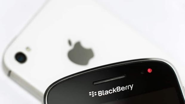 RIM is banking that the company's BlackBerry 10 phones can comp[ete with and surpass the popular iPhone.
