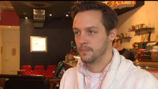 Coffee shop owner Jean-François Leduc