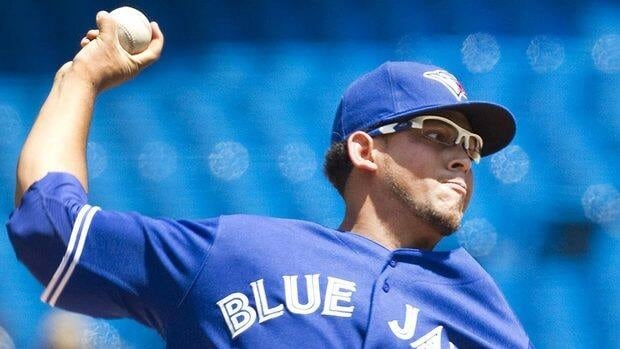 Blue Jays' starter Henderson Alvarez won his second start in a row Saturday after going winless in his previous seven starts as he held the Angels to seven hits and one run on 80 pitches.