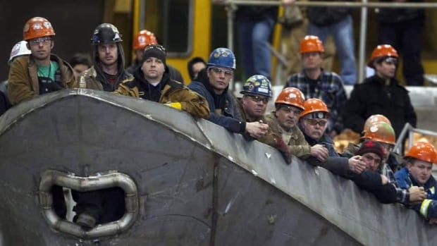 Workers at Irving's Halifax shipyard gathered two years ago to hear Prime Minister Stephen Harper announce an agreement in principle for the company to build six Arctic offshore patrol ships for the navy. It was announced Friday that a deal has now been signed.