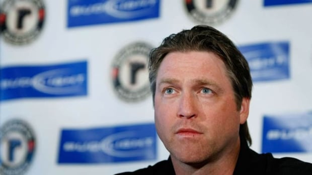 Hall of Fame NHL goalie Patrick Roy, shown here in 2009, won a Stanley Cup with the Colorado Avalanche in 1996 and 2001.