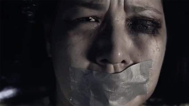 Edmonton Police Service are using graphic commercials to tackle domestic abuse in new campaign.