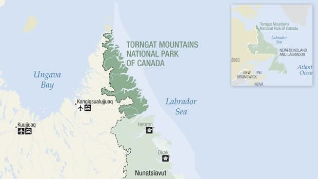 A hiker was attacked by a polar bear in Torngat Mountains National Park early Wednesday morning.