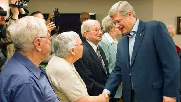 Prime Minister Stephen Harper recently warned that demographic realities 'threaten the viability' of programs like Old Age Security.