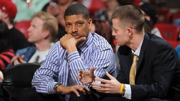 Sacramento mayor Kevin Johnson during a game between the Sacramento Kings and the Phoenix Suns on January 23, 2013.
