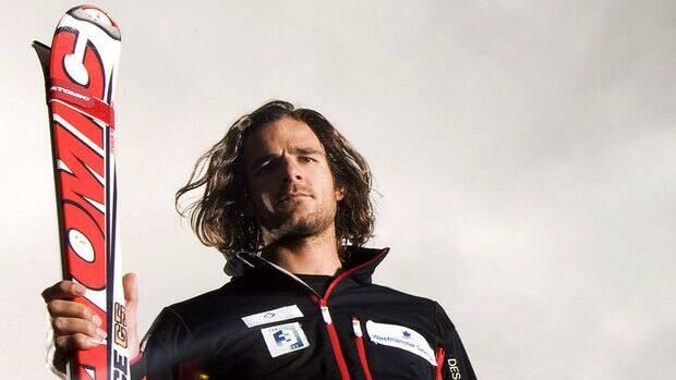 Canadian National Ski Cross team member Nik Zoricic poses for a photo following a media event at Cypress Mountain on Sept. 15, 2009.