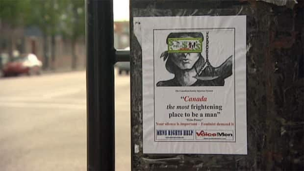 People in Saskatoon are reacting to several anti-feminism posters that have been showing up in the city.