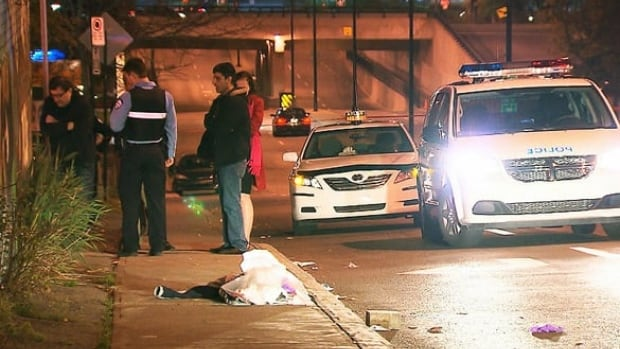 The victim was stabbed several times in the upper body, according to Montreal police.