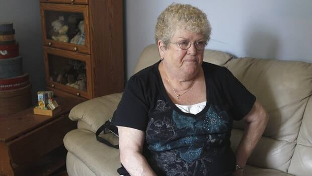 In this June 20, 2012 photo, Karen Klein, 68, of Greece, N.Y., talks about the verbal abuse she endured from Greece middle school students while she was school bus monitor.