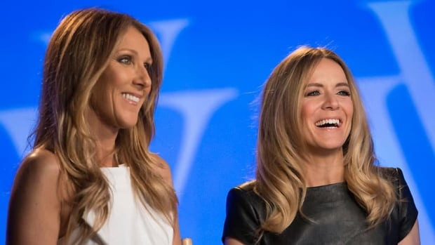 Céline Dion, left, is producing a Las Vegas show featuring fellow French Canadian singer Véronic DiCaire at the Jubilee Theatre.