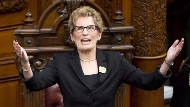 Ontario Premier Kathleen Wynne says that while there is now gender parity among premiers in Canada, there is a gap that needs to be closed when it comes to the proportion of women elected to legislatures across the country.