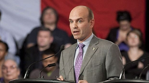 NDP leadership candidate Nathan Cullen says the future of politics is less partisan and he proposes joint nominations with the Liberals and Greens in Conservative-held ridings in the next election.