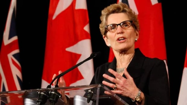 "Premier Kathleen Wynne has issued a statement saying she will not tolerate what she calls the ""hateful politics of division in Ontario."""