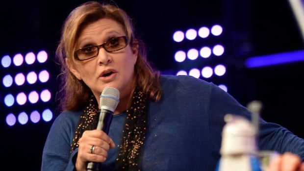Actress and novelist Carrie Fisher attends the Star Wars Celebration at Messe Essen on July 27, 2013 in Essen, Germany.