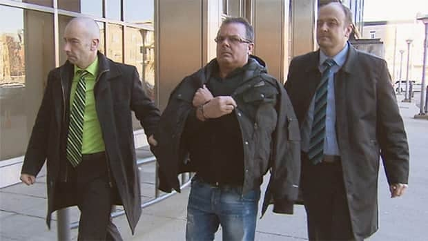 Raynald Desjardins was arrested in December 2011 and charged with first-degree murder in the shooting death of Salvatore Montagna.
