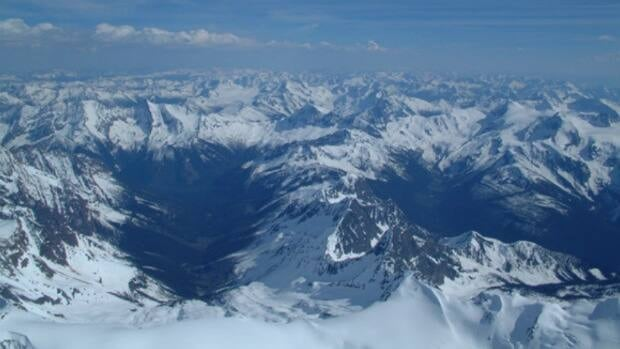 Glacier Dome and the upper Jumbo Creek Valley.