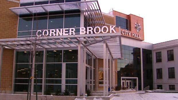 City Hall in Corner Brook, western Newfoundland.