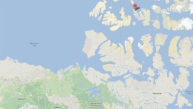 The oil field is located on Cameron Island, which is off of Baffin Island in Nunavut.