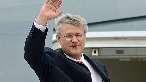 Prime Minister Stephen Harper is travelling to Peru and then Colombia for trade talks this week, at a time when the PMO is under scrutiny in a growing Senate expense controversy.