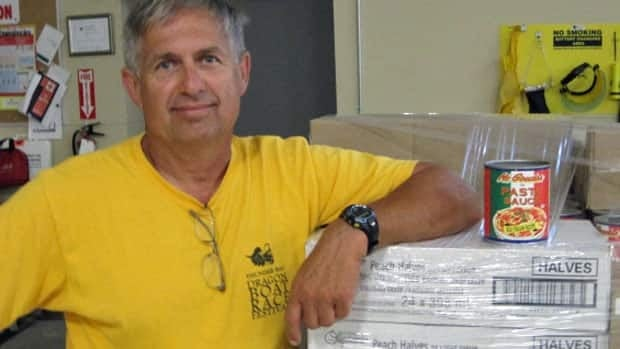 Volker Kromm, who runs the Regional Food Distribution Association for northwestern Ontario, said the number of repeat visits is 'scary'.