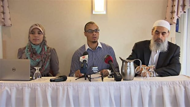A conference on Islam has been cancelled at Montreal's Palais des Congrès. Organizers say  Quebec has no right to request speakers be refused entry into the country.