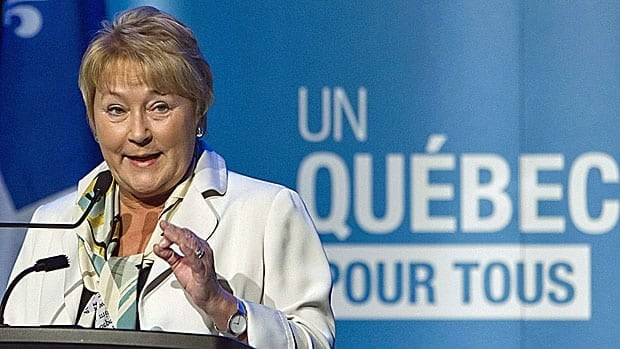Quebec Premier Pauline Marois campaigned last year on promises to toughen up Quebec's language laws and to adopt a charter of secular values.