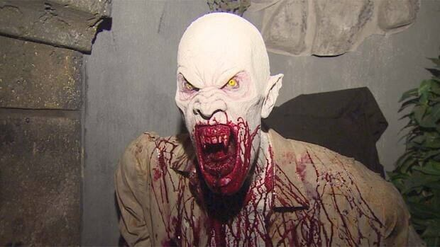You meet some of the most charming undead at Potter's House of Horror in Surrey.