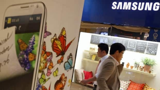 Samsung Electronics Co, the world's top technology firm by revenue, reported record quarterly profit of $7.3 Cdn billion on Friday.