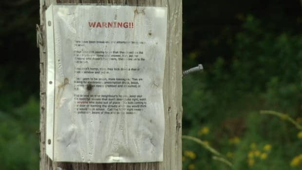 Fall River residents have posted warnings unexpected visits followed by break and enters.