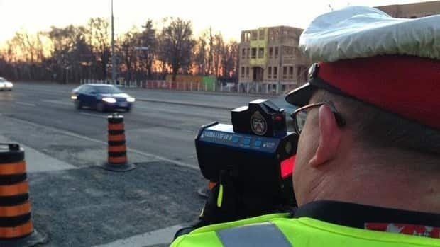Police say that excessive speeding leaves drivers less time to react to perceived threats.